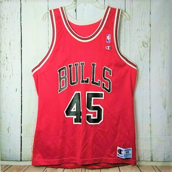more photos ccece 57cb0 Michael Jordan Bulls Champion #45 Jersey Size 44
